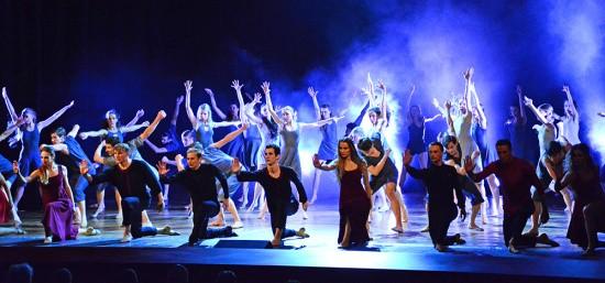 Театр танца «Гжель» выступил в Севастополе