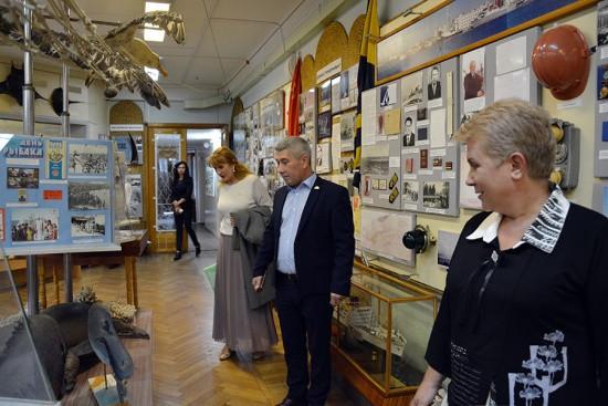 Дворец культуры рыбаков посетил почетный гость