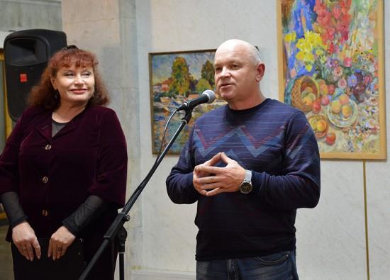 Отчетная выставка Творческого Союза художников Севастополя