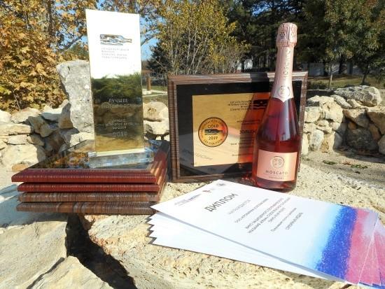 «Золотая Балка» получила награды во всех номинациях Международного винного конкурса