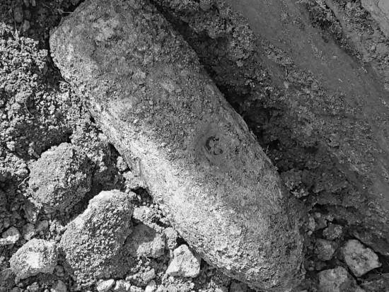 В Севастополе при прокладке водопровода найден боеприпас времен войны
