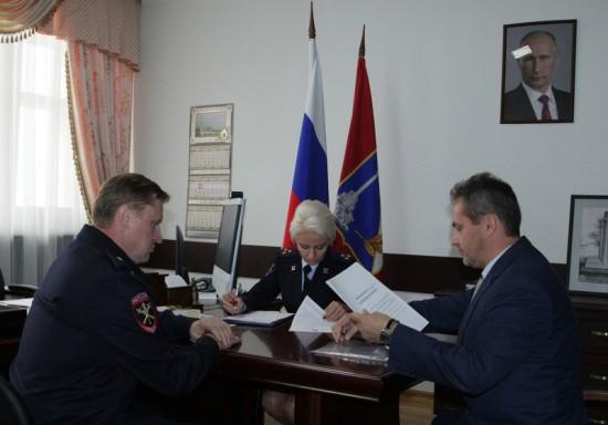 Начальник УМВД по Севастополю встретился с омбудсменом города