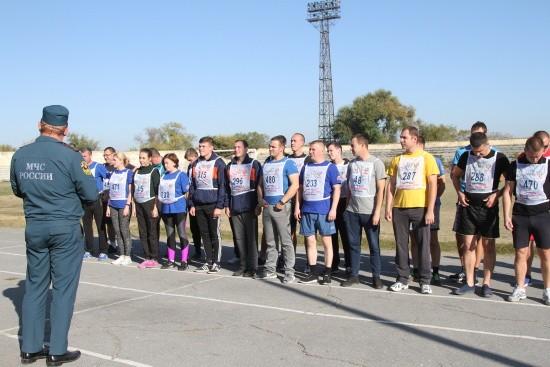 Севастопольские спасатели сдали зачеты по физической подготовке