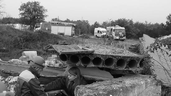 В Севастополе прошли учения по ликвидации последствий взрыва бытового газа