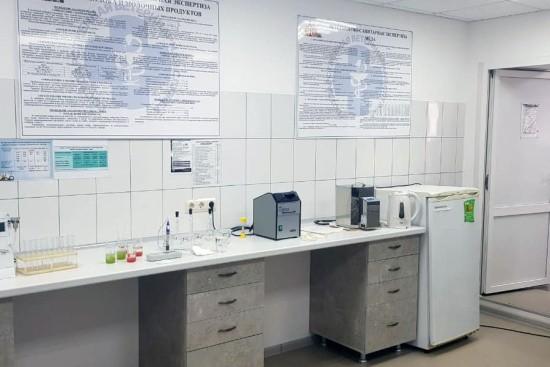 Государственная лаборатория ветеринарно-санитарной экспертизы на ярмарке «Центральная» открылась после реконструкции