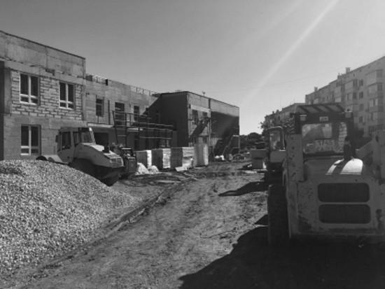 В Севастополе погиб рабочий на стройке детского сада