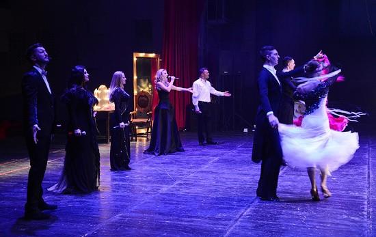 Севастопольцы увидели театрализованную постановку «Киноночь»