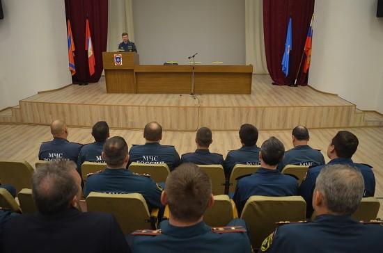 В Главном управлении МЧС России по Севастополю состоялось торжественное собрание