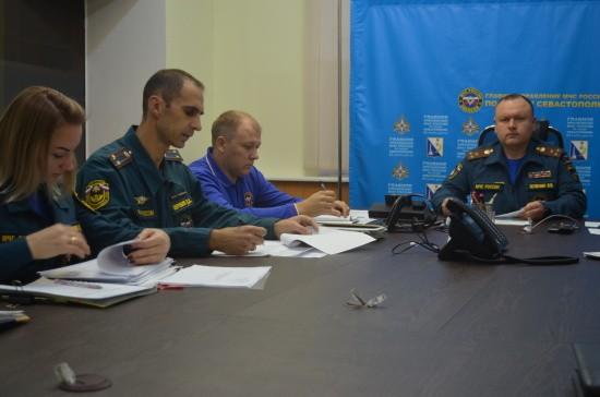 В Севастополе прошёл тренировочный сбор оперативного штаба ликвидации ЧС