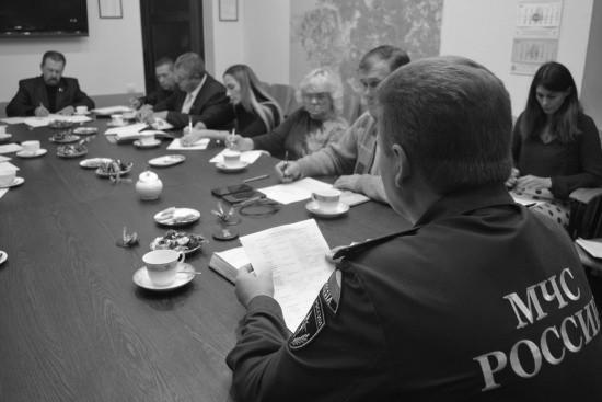 Участники Общественного совета при севастопольском чрезвычайном ведомстве обсудили вопросы взаимодействия в целях обеспечения безопасности граждан