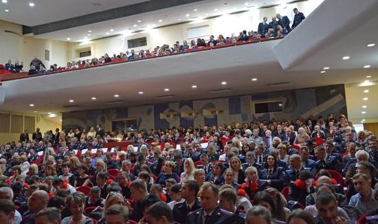 Полицейских Севастополя поздравили в канун профессионального праздника