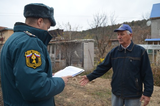 В Севастополе прошел рейд по пожарной безопасности в частном секторе