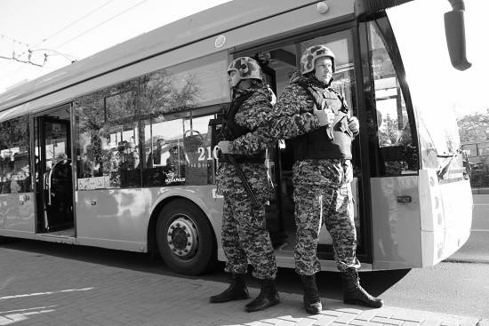 В Севастополе задержан злоумышленник, напавший на водителя троллейбуса