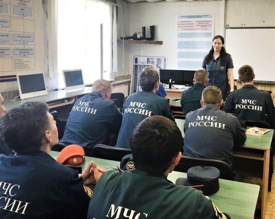 В Крыму завершились плановые мероприятия по психологической подготовке личного состава МЧС России