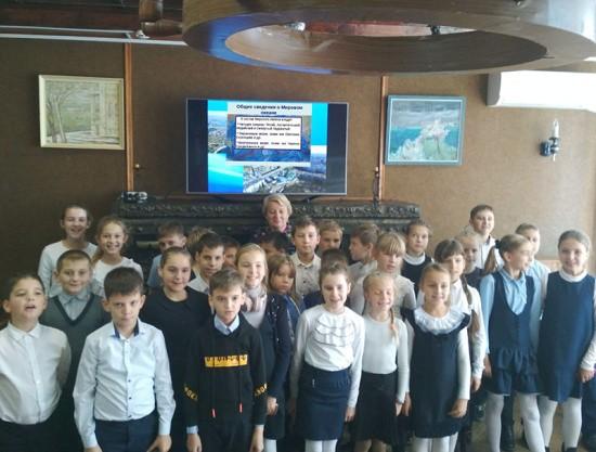 Севастопольские школьники совершили виртуальное путешествие по просторам Мирового океана
