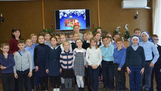 Школьников Севастополя познакомили с «Дружной семейкой Успенского»