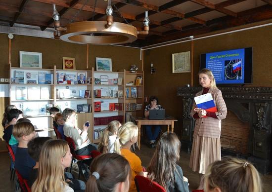 В Севастополе прошла патриотическая программа для школьников «Герои России»