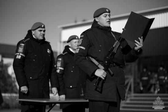 Военнослужащие роты военной полиции приведены к присяге в Севастополе