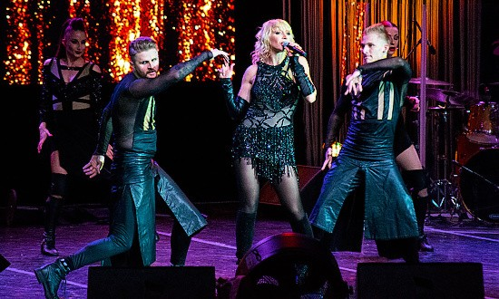 Кристина Орбакайте выступила с концертом в Севастополе