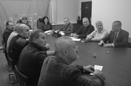 Севастопольские ветераны МЧС приняли участие в создании Общероссийской общественной организации
