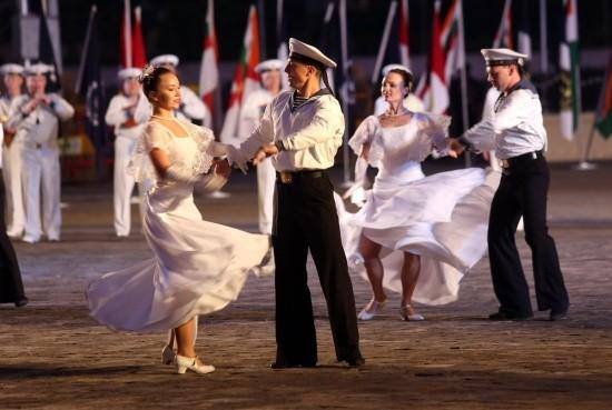 Артисты ансамбля песни и пляски ЧФ приняли участие в праздновании Дня ВМС Индии