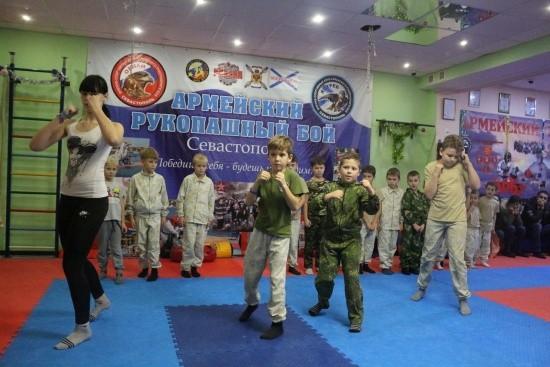 В Севастополе юные рукопашники прошли аттестацию