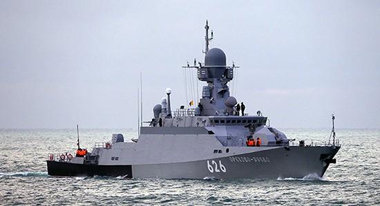 На Черноморском флоте прошло учение по организации экстренного приготовления кораблей к бою и походу