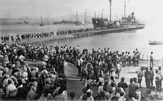 В Севастополе прошли мероприятия, посвященные «Русскому исходу» в ноябре 1920 года
