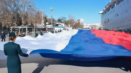 Севастопольские таможенники провели патриотическую акцию