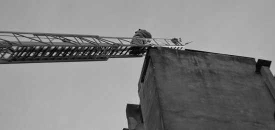На базе клинического госпиталя в Севастополе прошли пожарно-тактические учения (видео)
