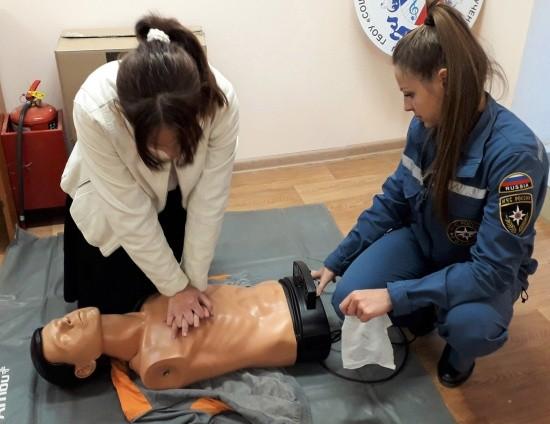 Старшеклассники Севастополя обучились приемам первой помощи