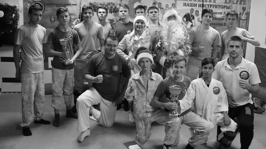 В Севастополе прошел Кубок Деда Мороза для юных рукопашников