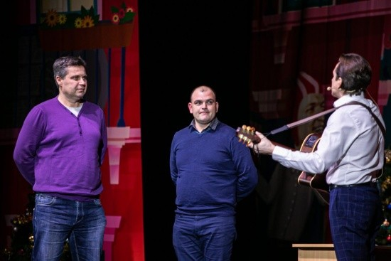 Вячеслав Мясников и Андрей Рожков выступили в Севастополе