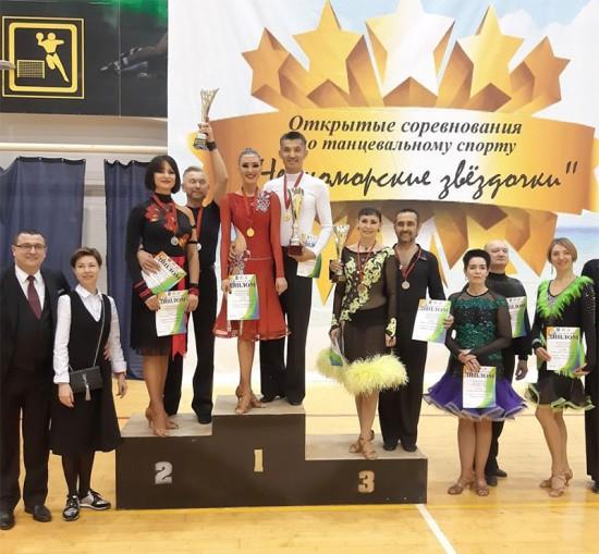 Севастопольские танцоры достойно выступили на соревнованиях