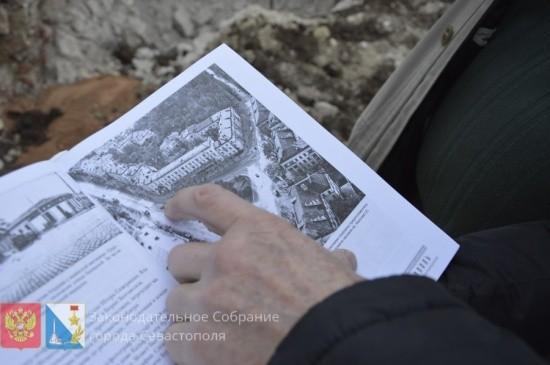 На площади Лазарева сделаны находки, возможно уникальные