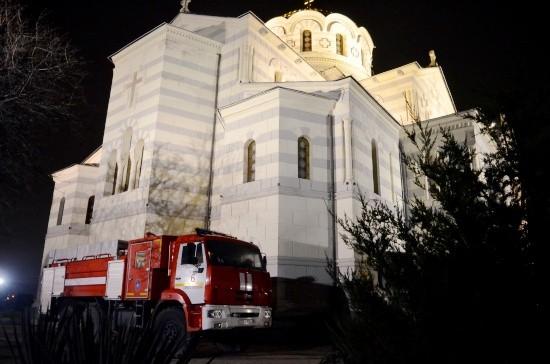 В МЧС сообщают, что Рождественские богослужения в Севастополе проходят без происшествий
