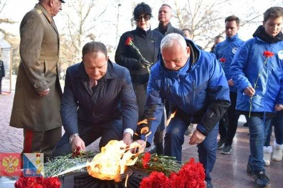 Освобождение Ленинграда от фашистской блокады отметили в Севастополе