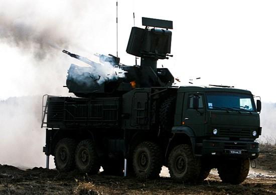 Расчеты «Панцирь-С1» провели учение по поиску и уничтожению воздушной цели в Крыму