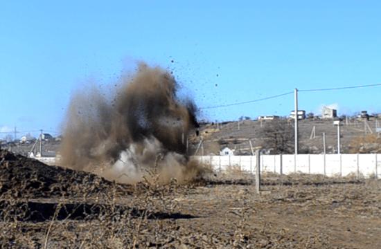 В МЧС рассказали подробности уничтожения бомбы в Севастополе