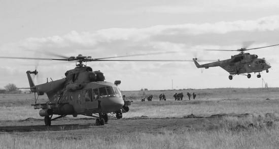 Тактический воздушный десант уничтожил условного противника в Крыму (видео)