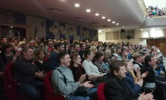 В Севастополе с концертом выступил струнный квартет «MoscowBoys»