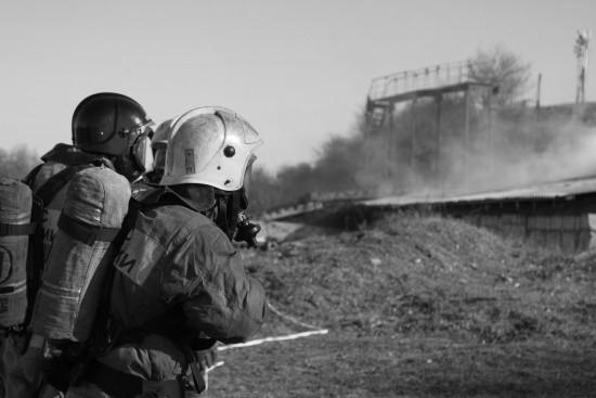 Севастопольские газодымозащитники прошли «тест на прочность» (видео)
