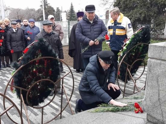 В Севастополе отметили 275-ую годовщину со дня рождения адмирала Ушакова