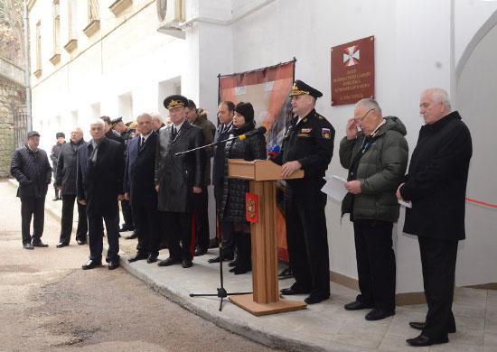 В Севастополе после реконструкции открылся музей истории военных строителей