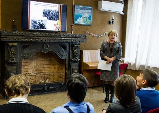 Школьникам Севастополя рассказали о юных героях-антифашистах