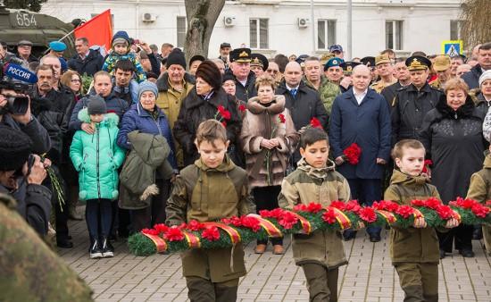 Годовщину вывода советских войск из Афганистана отметили в Севастополе