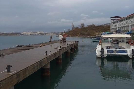 В Севастополе ГИМС проводит техническое освидетельствование баз для стоянок маломерных судов