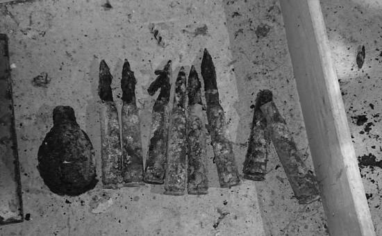 В центре Севастополя найден тайник с боеприпасами