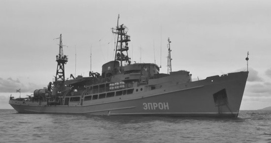 «Эпрон» выполняет работы по поиску в море военной техники времён Великой Отечественной войны