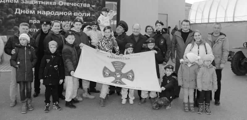 Юные рукопашники Севастополя отметили День народной воли и День защитника Отечества